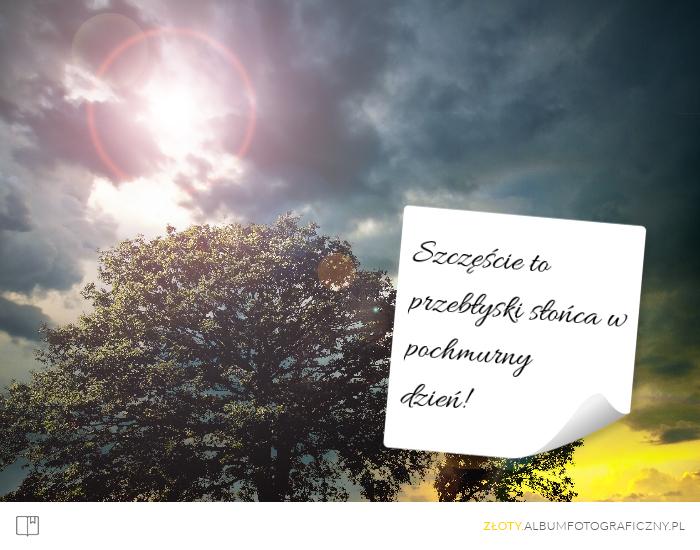 Złoty Album Fotograficzny Skarbnica Pięknych Myśli